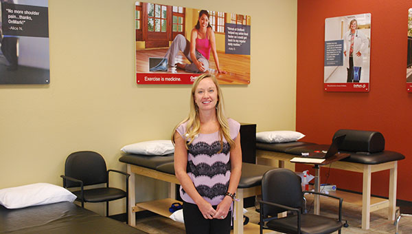 OnMark Physical Therapy Clinic Director Jennifer Spencer looks forward to working with those in the Helena community. (Reporter Photo/Graham Brooks)