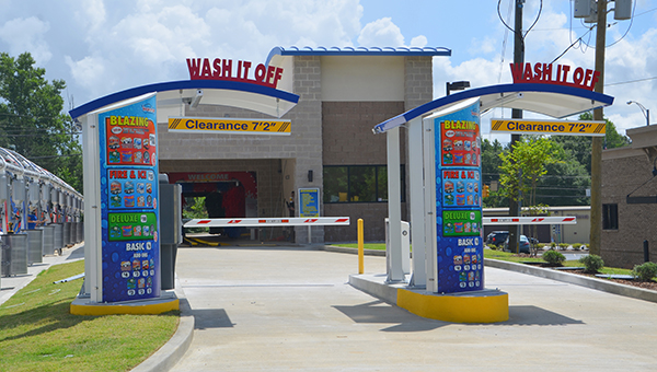 The Wash It off car wash in Helena is set to open on Monday, June 15. (Reporter Photo/Emily Klein)