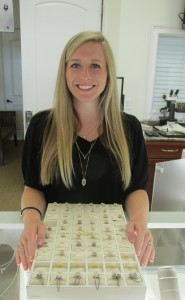 Rachel Krebs, 20, balances her job at Paul's Diamond Center in Alabaster with college classes at the University of Montevallo and being engaged. (Contributed)