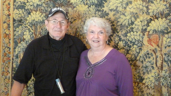 Bill Wyatt is an Air Force veteran during the Korean War Conflict, six-time cancer survivor, and the longest serving veteran on the Alabama Department of Veterans Affairs. Wyatt is a lifelong Harpersville resident. Pictured are Bill and Pat Wyatt, who have been married 55 years. (Contributed)