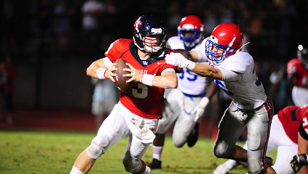 Warren Shader is back under center for Oak Mountain in 2015, and that's good news for the Eagles. (Contributed)