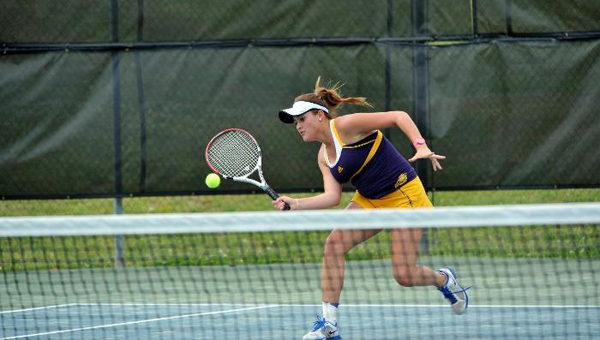 The Montevallo women's tennis team was recognized with an Intercollegiate Tennis Association NCAA DIvision II All-Academic team award for the 2014-15 season. (Contributed)