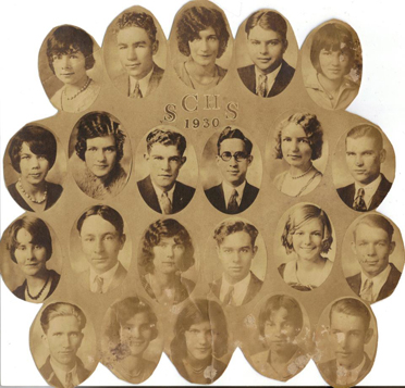 Pictured is the 1930 Shelby County High School graduating class. (Contributed/Shelby County Museum and Archives)