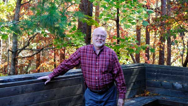 Director of Oak Mountain Interpretive Center, David Frings
