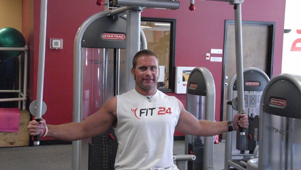 Fit 24 owner Keith Davis is expanding his business with two additional locations in Pelham and Calera. (Reporter Photo/Jessa Pease)