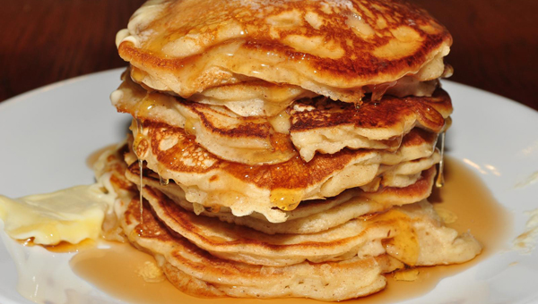 The first Saturday of every month, Shelby Iron Works hosts an all-you-can-eat pancake breakfast out of the park. (Contributed)