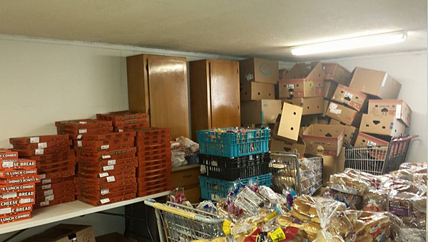 Manna Ministries, which provides food to people in need every week, has finalized its move to Shepherd's Harvest Church off Smokey Road in Alabaster. (Contributed)