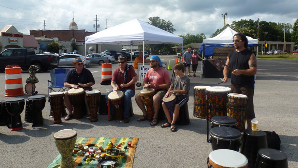 """John Scalici will return to the Shelby County Shindig in Columbiana on Saturday, July 18 from 2:30-3:30 p.m. facilitating his """"Get Rhythm"""" community drum circle. The Shindig BBQ cook-off and music festival is from 1-7 p.m. (Contributed)"""