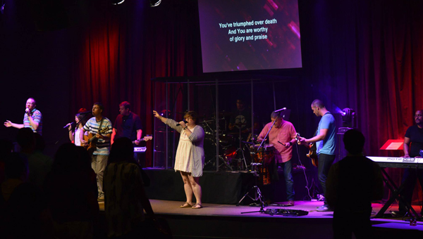 """With """"rock concert"""" style Sunday services, U.S. 280's a2 Church offers a different worship experience. (Contributed)"""