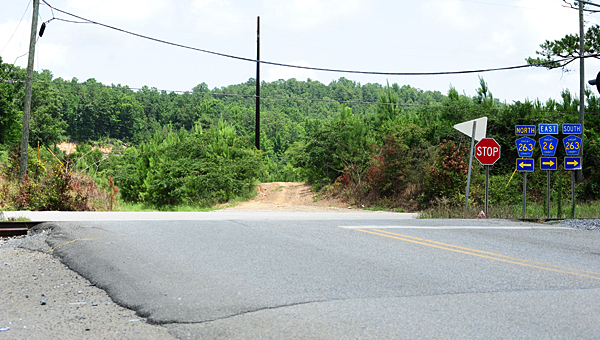 Alabaster is working with the Alabama Department of Transportation and Shelby County to extend Fulton Springs Road from its current terminus at Old Highway 31, pictured, to U.S. 31. (Reporter Photo/Neal Wagner)