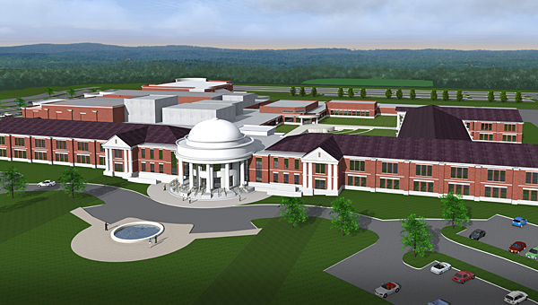 Alabaster's new high school is still on track to open in the fall of 2017, according to the project's manager. (File)