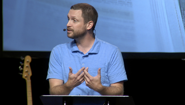 Former worship director for The Church at Brook Hills, Pastor Matt Mason, is now serving the church as senior pastor, following his June 28 selection. (Contributed)