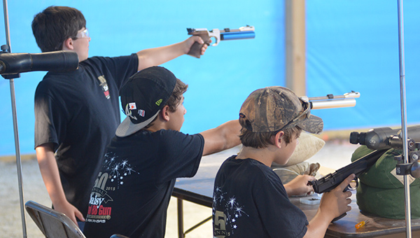 The Shelby County Shooting Sports Association helps train youth about the importance of firearm safety, marksmanship, training as well as offering rifle teams. (Reporter Photo/Graham Brooks)