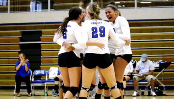 The Chelsea volleyball team is looking to take the next step in 6A. (Contributed)