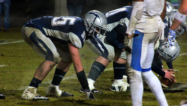 Evangel Christian's John Will Graham will be an integral cog to both the offensive and defensive line for the Lightning in 2015. (Contributed)