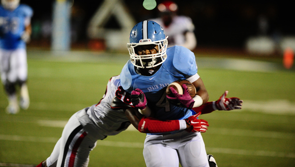 Spain Park's Wade Streeter will play a key role all season for the Jaguars, including in the early season matchup against county opponent Thompson. (File)