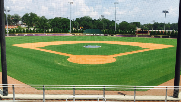 The Montevallo baseball field is one of the athletic surfaces Roper is responsible for maintaining for the University. (Contributed)