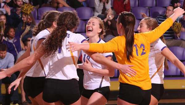 The University of Montevallo Lady Falcons volleyball team was picked to finish fifth in the Peach Belt Conference Preseason Coaches Poll. (Contributed)