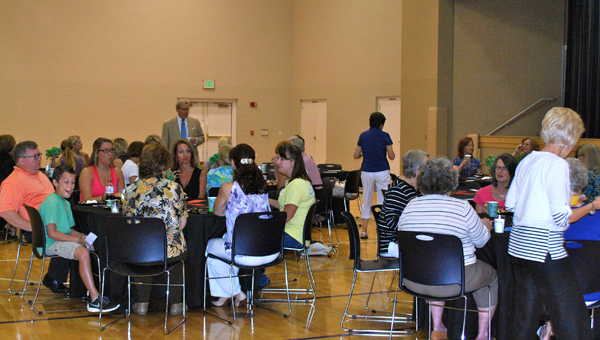 Asbury United Methodist Church kicked off the new school year with the Back to School Prayer Breakfast on Aug. 12. The annual event gives parents a chance to relax on what can be a stressful day. (Reporter Photo / Molly Davidson)