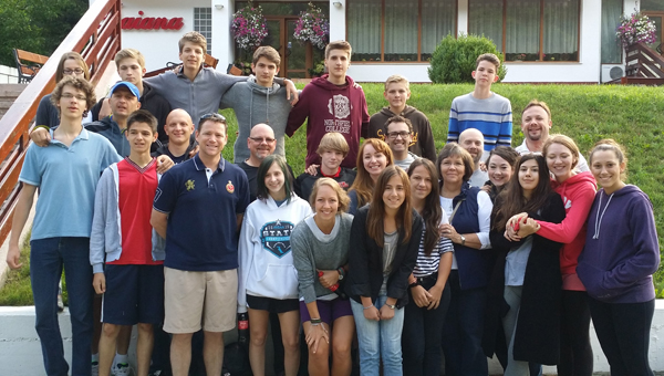 A group from Double Oak Community Church traveled to Romania this summer to do mission work and lead a teen Bible camp. (Contributed)