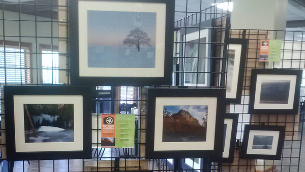 The winners of Outdoor Alabama's 2015 photo contest are on display at The Oaks Clubhouse in Oak Mountain State Park. (Contributed)