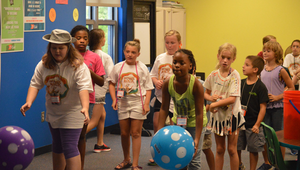 About 50 children participated in Lakeview Pelham's First United Baptist Church's vacation Bible school. (Contributed)