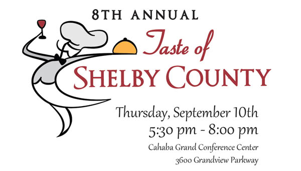 The Shelby County Education Foundation's Taste of Shelby County event returns to the Cahaba Grand Conference Center on Sept. 10. (Contributed)