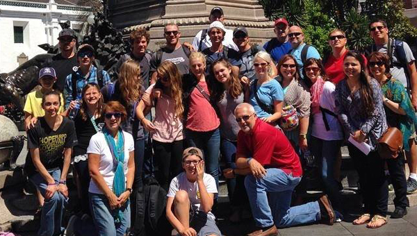 Members of a2 Church traveled to Ecuador to do mission work this summer. (Contributed)