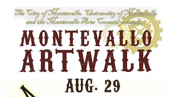 Montevallo will be hosting Artwalk on Saturday, Aug. 29 from 5-9 p.m. in downtown Montevallo. (Contributed)