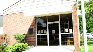 The library is on Alabama 25 in downtown Vincent. (Reporter Photo/Neal Wagner)