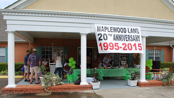 Maplewood Lane Assisted Living facility celebrated 20 years of business by hosting a celebration on Sunday, Aug. 30 in Helena. (Reporter Photo/Graham Brooks)