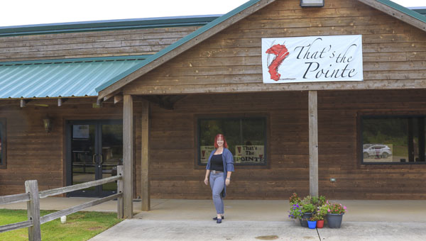 Katie Alder opened her Chelsea dance studio, That's The Pointe, about three years ago. The studio moved into a larger space across town in May. (For the Reporter/Dawn Harrison)