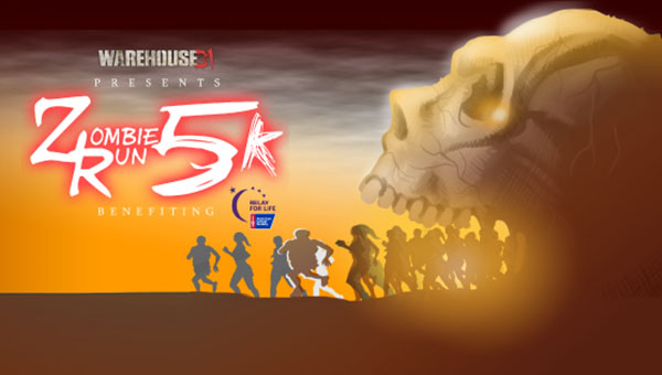 The inaugural Zombie Run 5K will be held Saturday, Sept. 19 at 10 a.m. at Warehouse 31 in Pelham. (Contributed)
