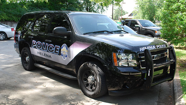A suspect is still at large after failing to stop during a traffic stop, hitting a Helena patrol car and fleeing on foot the afternoon of July 21. (File)