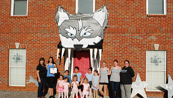 "Helena Premier Dance and Twirl Academy Studio won the 2015 ""Paint the Town Husky"" contest. Registration is now open for this years contest. (File)"