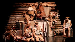 """Spain Park students constructed the set, sewed costumes and designed the lighting and sound for """"Pals."""" (Contributed)"""