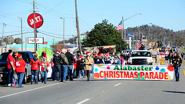 Alabaster Christmas Parade 2020 Alabaster names winners in 2015 Christmas parade   Shelby County