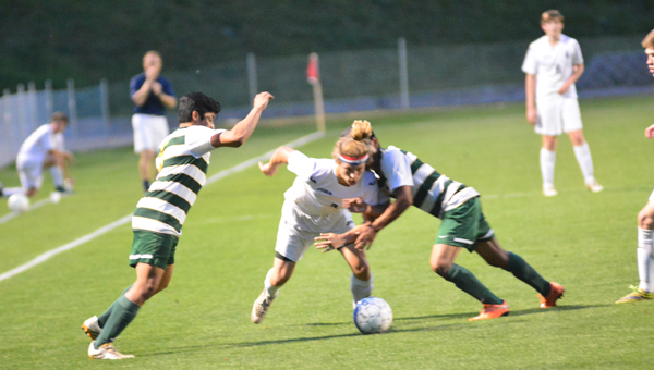 The Briarwood and Pelham boys soccer teams are two of the 13 Shelby County teams ranked in the final regular season soccer poll. (File)
