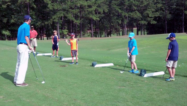 Golf Club is currently registering students for its 2016 Junior Golf Academy. (Contributed)