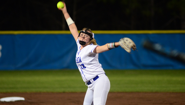 Sarah Cespedes threw a no-hitter against Pell City on April 18, giving Chelsea home field advantage in the 6A Area 10 softball tournament. (File)