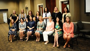 Among the 18 nominees for Elementary Educator of the Year, Michelle Dunning, of Oak Mountain Intermediate School, was recognized as the overall winner.