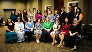 The chamber recognized 22 teachers as nominees for Secondary Educator of the Year, and Dawn Cabrera, of Montevallo High School, was named the winner.