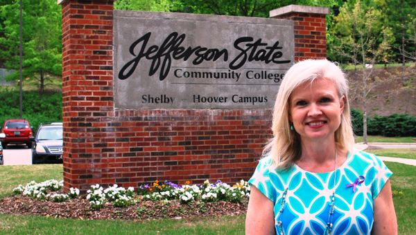 Dr. Angela Walker was recognized as the winner of Jefferson State Community College's 2016 Outstanding Alumnus Award during a ceremony on April 21. (Contributed)