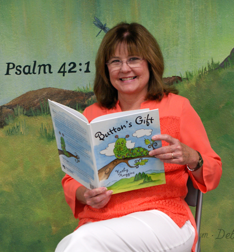 """Kathy Huggins, a former nurse at Brookwood, is the author of a new children's Christian book titled """"Button's Gift."""" (Contributed)"""