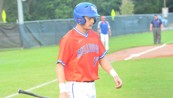 Zac Oden and the Montevallo Bulldogs fell to UMS-Wright in the 4A quarterfinals on May 6 in two games, ending their season. (File)