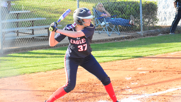 Abby Jones and the Oak Mountain Lady Eagles won the 7A Area 5 tournament on April 7 and are headed to the North-Central Regional tournament. (File)