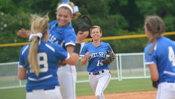 The Chelsea Lady Hornets clinched the 6A softball state championship on May 20, and went 4-0 in the state tournament. (Reporter Photo / Baker Ellis)