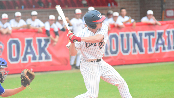 The Oak Mountain baseball Eagles came back from a game down to beat Vestavia in the first round of the 7A playoffs on April 29-30. (File)