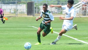 Pelham's Nigel Hillard led the Panthers' back line all season, and Hillard helped get Pelham back to its second consecutive 6A Final Four. (File)