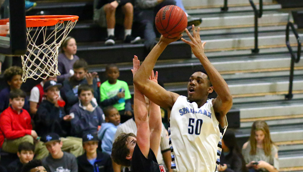 Spain Park's Austin Wiley, who averaged 21.7 points and 12.1 boards per game in his junior season, has been invited to take part in the Men's U17 World Championship Team training camp in Colorado. (File)